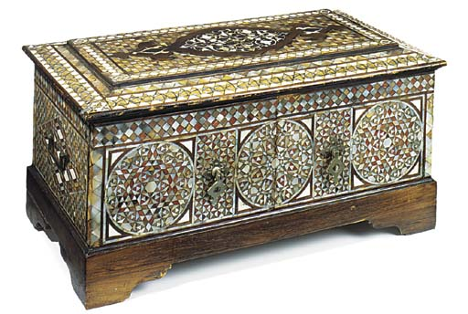 AN IBERIAN MOTHER-OF-PEARL AND