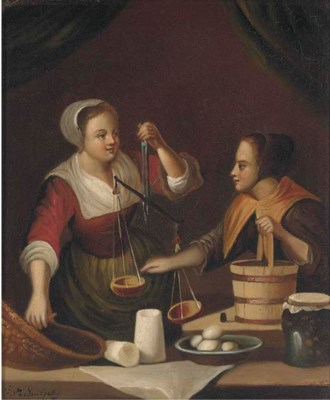 Manner of Gabriel Metsu