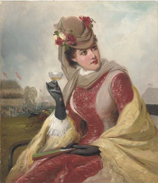 Manner of William Powell Frith