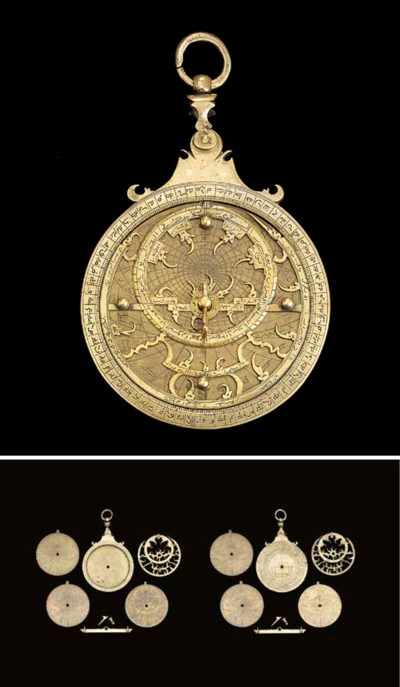 A Maghribi astrolabe, unsigned