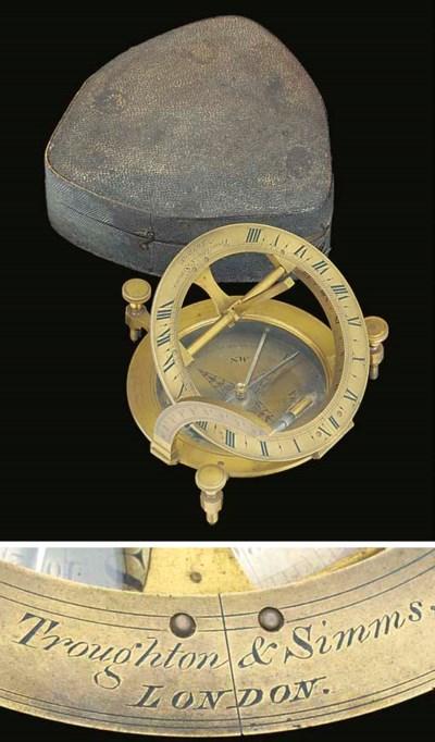 A 19th-Century brass equinocti