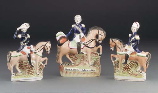 Three Staffordshire equestrian