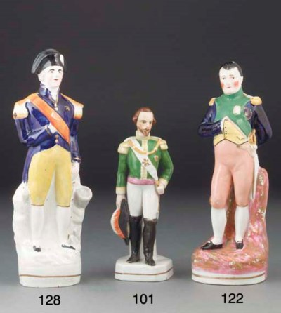 A Staffordshire figure of Nels