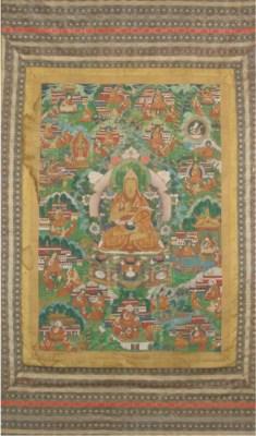 A Tibetan Thangka, 19th centur