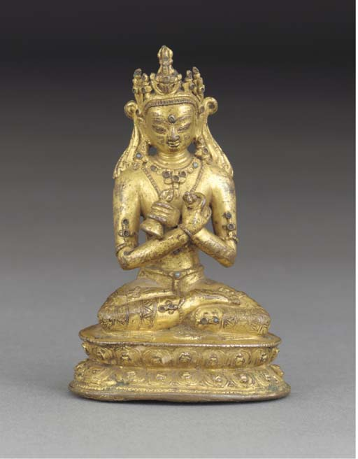 A Nepalese gilt copper model o