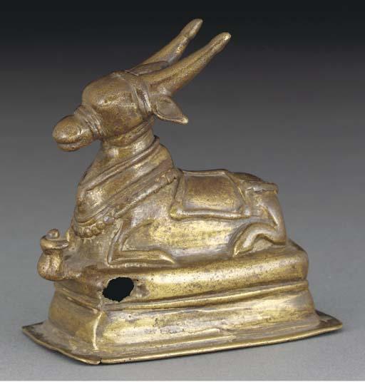 A Tibetan bronze model of a re