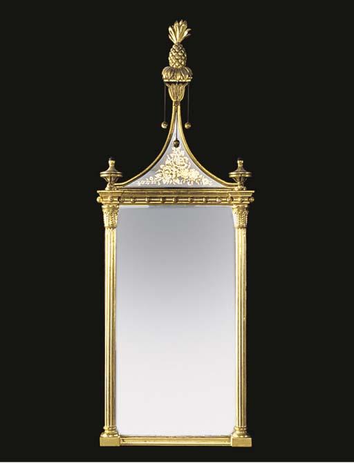 A gilt composition verre eglom