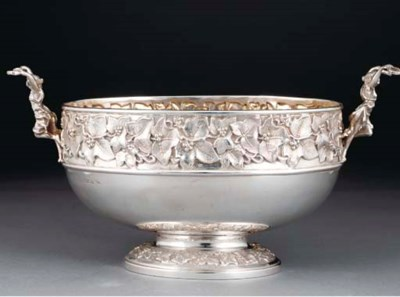 A Late Victorian Silver Bowl