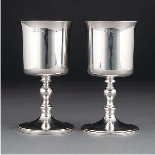 A Pair of Modern Irish Silver