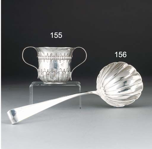 A George III Irish Silver Soup