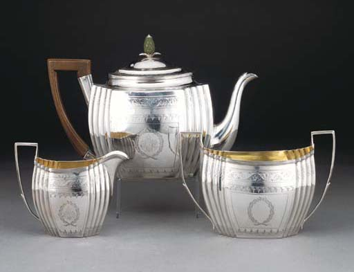 A George III Silver Three-piec