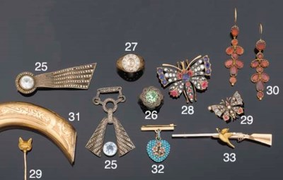 A brooch of hunting interest
