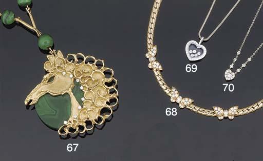 A diamond necklace by Asprey &