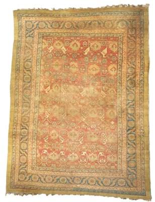 An Antique Bakshaish carpet