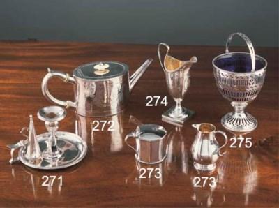 A George III silver Chamber-Ca