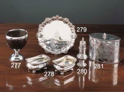 A George II Silver Caster