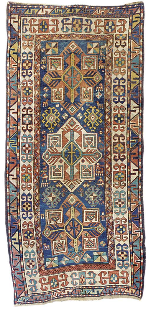 An Antique South Caucasian rug