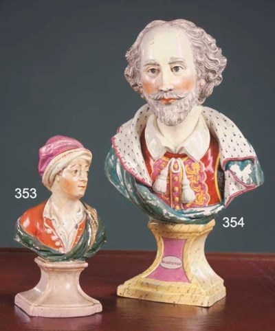 A Staffordshire pearlware libr