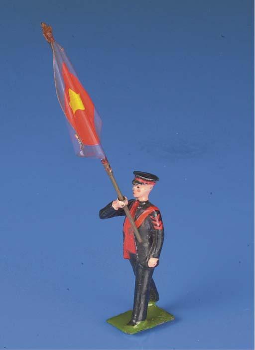 A Britains Salvation Army Standard Bearer
