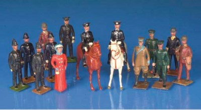 Britains from Set 168 Civilian