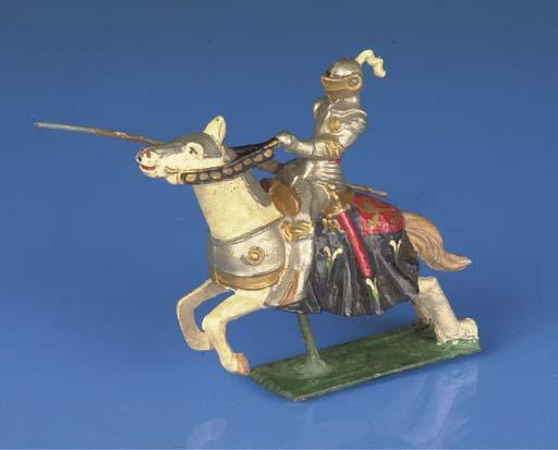 Courtenay mounted knight