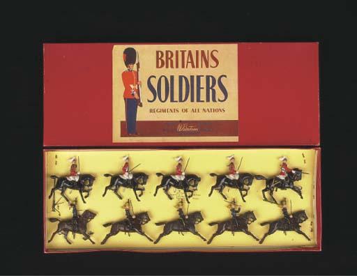 A post-war Britains set 50 Bri