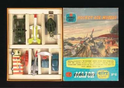 A Corgi Gift Set 6 Rocket Age