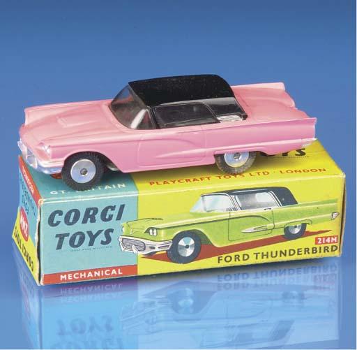 Corgi American Fords and Chevr