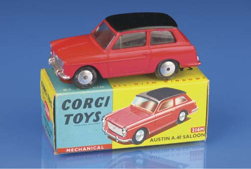 Corgi Ford and Austin Cars