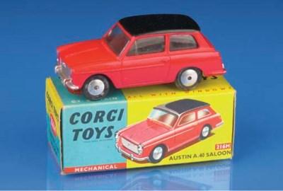 Corgi Ford and Austin Cars