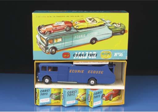 A Corgi Gift Set 16 Ecurie Eco