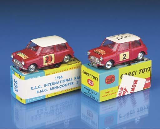 Corgi Rally Minis