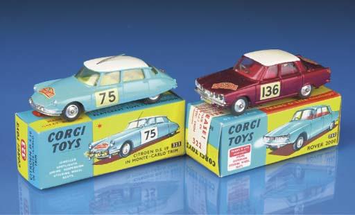 Corgi Monte Carlo Rally Cars