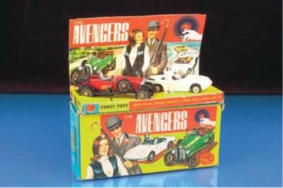 A Corgi Gift Set 40 The Avenge
