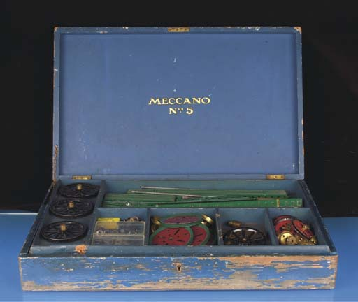 A Meccano Outfit No. 5