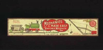 An empty  Meccano 'Mechanics M