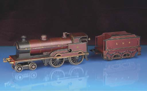 Bing and other makers clockwork locomotives and rolling stock