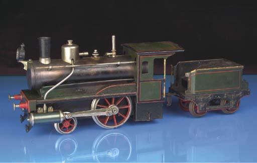 Carette spirit-fired steam 2-2