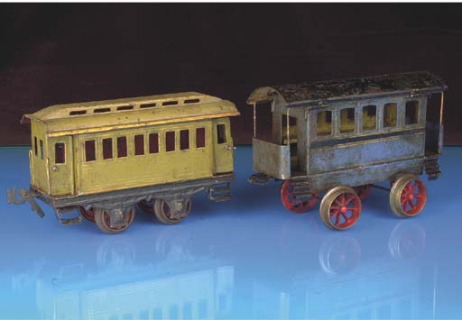 Carettte, Bing and other makers rolling stock