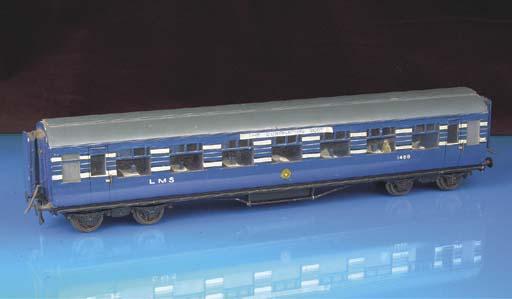 Mills Bros (Milbro) 0 Gauge Coronation Scot train and coaches