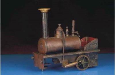 A Plank spirit-fired steam flo