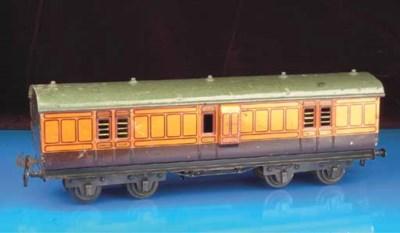 A Carette bogie 42cm. LSWR Pas