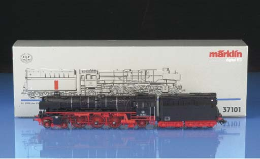 Märklin Steam outline digital locomotives