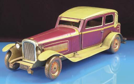 A Tipp & Co clockwork two-door Limousine