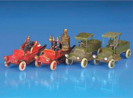 Ernst Plank miniature vehicles