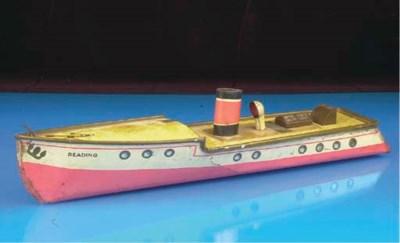 A Huntley and Palmer 'Boat' Bi