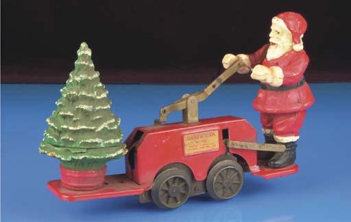 A Lionel clockwork 1106 Santa Car