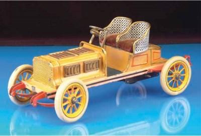 A Bing clockwork Motor Racing