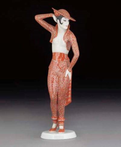 'Carmen' A porcelain figure