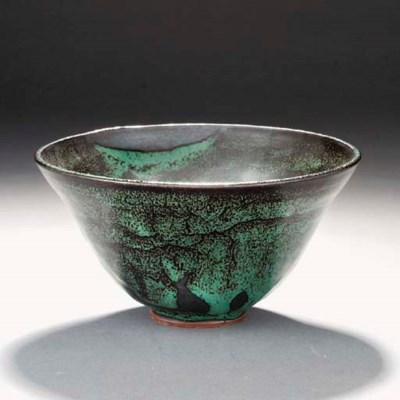 An earthenware bowl